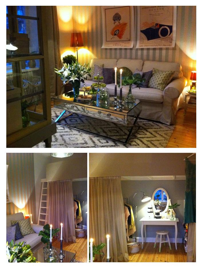 Showartist får sin lägenhet inredd av Elsa Billgren HelaHemmet från golv till tak